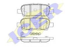 Колодки Дисковые Задние ! Infinity G35 3.5i V6 06># Icer арт. 181838 181838_ Icer 181838