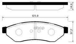 Колодки Тормозные Дисковые Задн Chevrolet: Epica 04-06, Evanda 99-06 Daewoo: Magnus 99-, Tosca 06- Suzuci: Verona 04-06 HSB арт. HP2018 HSB HP2018
