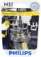 Лампа! (Hs1) 35/35w 12v Галогенная Vision Moto (Блист.1шт) Philips арт. 12636BW 12636bw_