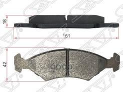 Колодки Тормозные Перед Chevrolet Cobalt 11-/Ravon R4 17-/Kia Sportage 93-05 Sat арт. ST-94748947