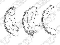 Колодки Тормозные Зад Chevrolet Cobalt 11-/Ravon R4 17-/Aveo 03-08 Sat арт. ST-96473229 Sat ST96473229