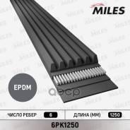 Ремень Поликлиновой 6pk1250 Miles арт. 6PK1250