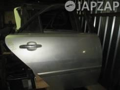 Дверь Toyota Markii Blit GX110 (2002-2007) Зад Право Серебро