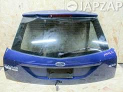 Дверь Багажника Ford Focus 1 ZX3 (1998-2005) Зад Синий