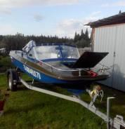 Лодка Обь-3 с мотором