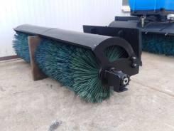 Щеточное оборудование на мини-погрузчик