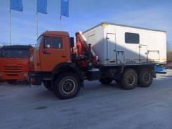 Автомобиль-мастерская с КМУ и ДГУ Камаз-43118
