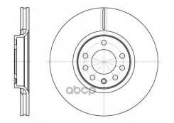 Диск Тормозной Передний! Opel Astra, Saab 9-5 2.0/2.2/2.3/3.0/1.9cdti 99> Remsa арт. 672910