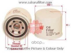 Фильтр масляный! Suzuki Swift/Baleno 1.0-1.6 95 Sakura C1202