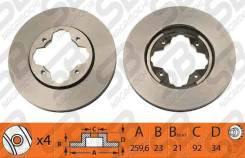 Диск Тормозной Передний 45251-SM4-000 NIBK RN1030