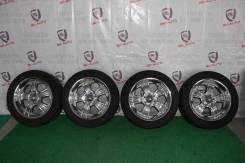 Диски хром R20 8,5J ET+10 6x139.7 +шины
