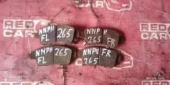 Тормозные колодки Toyota Porte 2007 NNP11-5016639 1NZ-C636436, переднее
