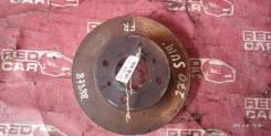 Тормозной диск Nissan Bluebird 1999 SU14-105853 CD20-752972X, передний