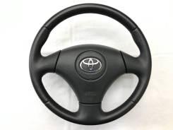 Оригинальный кожаный обод руля Toyota Corolla 120 2001-2004
