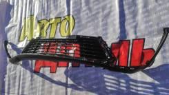 Спойлер переднего бампера Kia Rio 4 X-Line 2020