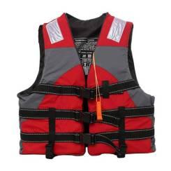Детский спасательный жилет, цвет Красный