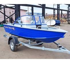 Алюминиевая лодка Wyatboat-390 DCM