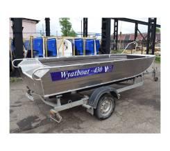 Алюминиевая лодка Wyatboat-430 Master