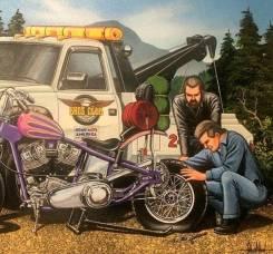 Подкат для мотоцикла (чоппер)