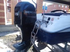 Продам катер с 4-х тактным мотором меркурий 115