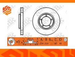 Диск тормозной NIBK RN1121 задний (Япония)
