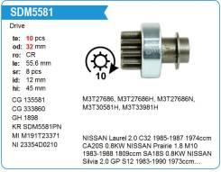 Бендикс стартера SDM5581PN