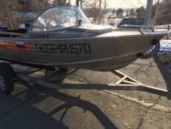Продам лодку wellboat 460 + yamaha 30 + прицеп