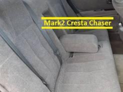 Сидения передние, задние на Mark2, Cresta, Chaser 100кузов серый велюр