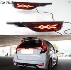 Катафоты бампера Honda FIT 2018+ (3 режима)