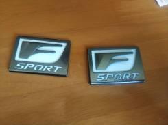 Эмблема крыла переднего F-sport оригинал 75362-30011