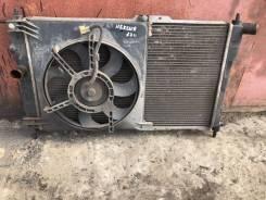 Радиатор в сборе с Вентилятор Daewoo Nexia n150 2012 год