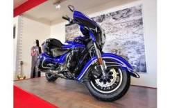 Мотоцикл Indian Roadmaster Elite Cobalt Candy over Black Crystal w/23k Gold