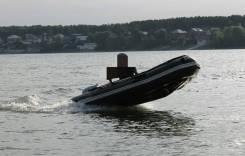 Лодка надувная stormline 380 + мотор 15лс+ прицеп