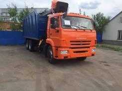 КМУ Ломовоз КамАЗ-65115-3094-48 (Евро-5), кузов 30 куб., Майман-110S, захват ГЛ-6