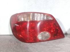 Фонарь (стоп сигнал) Mitsubishi Outlander, левый задний