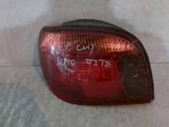 Фонарь (стоп сигнал) Toyota Vitz, левый задний