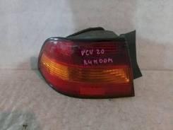 Фонарь (стоп сигнал) Toyota Windom, левый задний