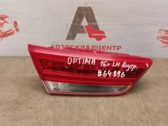 Фонарь левый - вставка в дверь / крышку багажника Kia Optima (2015-2020) 2015-2018 [92403D4200]