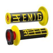 Грипсы ODI EMIG V2 Lock-On H36EMBY Черный/желтый 4 и 2-х тактных