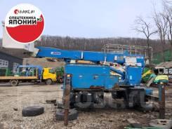 Видео работы! Автовышка Aichi SH145, 15 метров, Аккумуляторная 48V