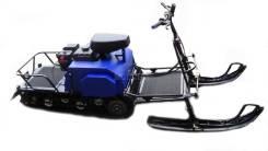 Мотобуксировщик Лидер Сигма - 2 8 л. с. с лыжным модулем