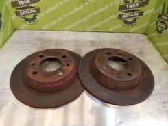 Тормозные диски Saab 9000 Cc 1990 [24010901301] B2023L Турбо, заднее