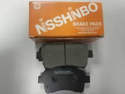 Колодки тормозные перед Nisshinbo PF-9461