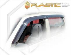 Ветровики дверей Classic полупрозрачный ВАЗ Lada Niva Travel 2020-н. в. (изготовление) Plastics 1590
