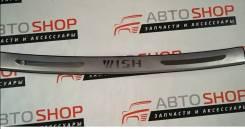 Накладка на задний бампер Toyota WISH 20