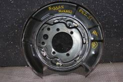Infiniti /Nissan Murano PNZ51 Кожух тормозного диска Задний Правый