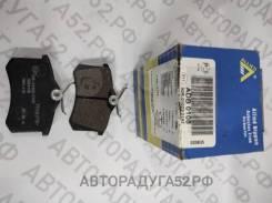 Колодки торм задние ADB0108 AUDI A3, A4, VW, Skoda, Renault, Peugeot