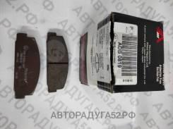 Колодки торм задние Mazda 6 02-08/323 98-04/626 97-02 ADB0819