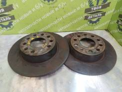 Тормозные диски Volkswagen Jetta 6 2011 [1K0615601AA] 1.4 CAXA TSI, заднее