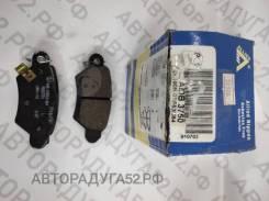 Колодки торм задние ADB3750 OPEL Astra 98-05, Zafira